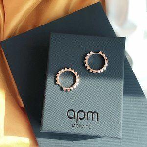 Apm Monaco Fashion Tooth Earrings